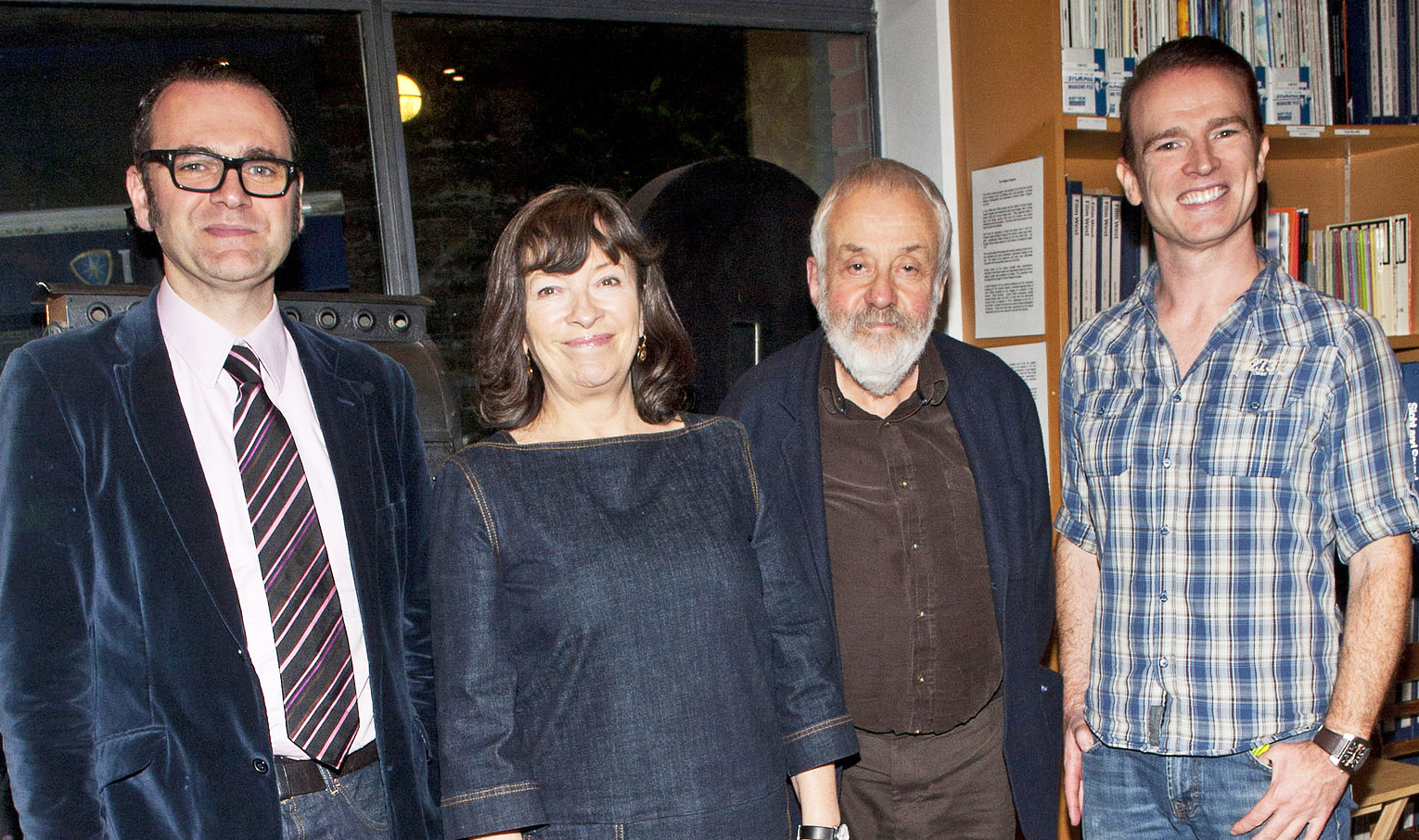 Mike Leigh at the IFI - October 2014